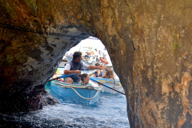 blue grotto exit