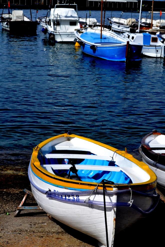 boats at capri