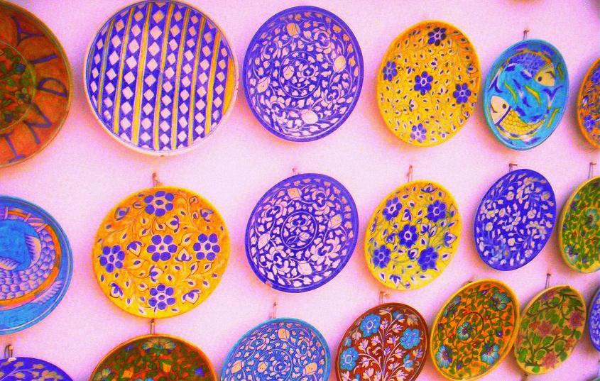 blue pottery jaipur