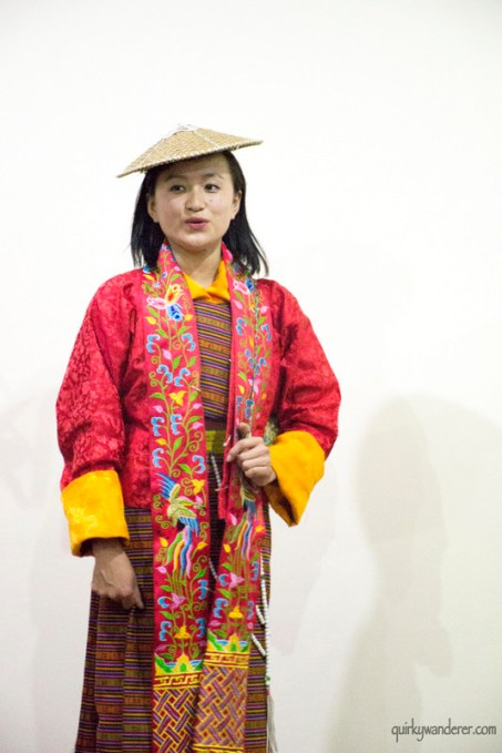 bhutanese dancer female