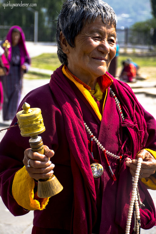 bhutanese lady-001